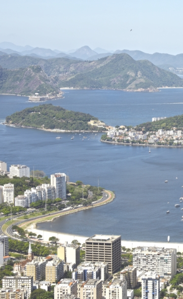 Rio Harbour and City
